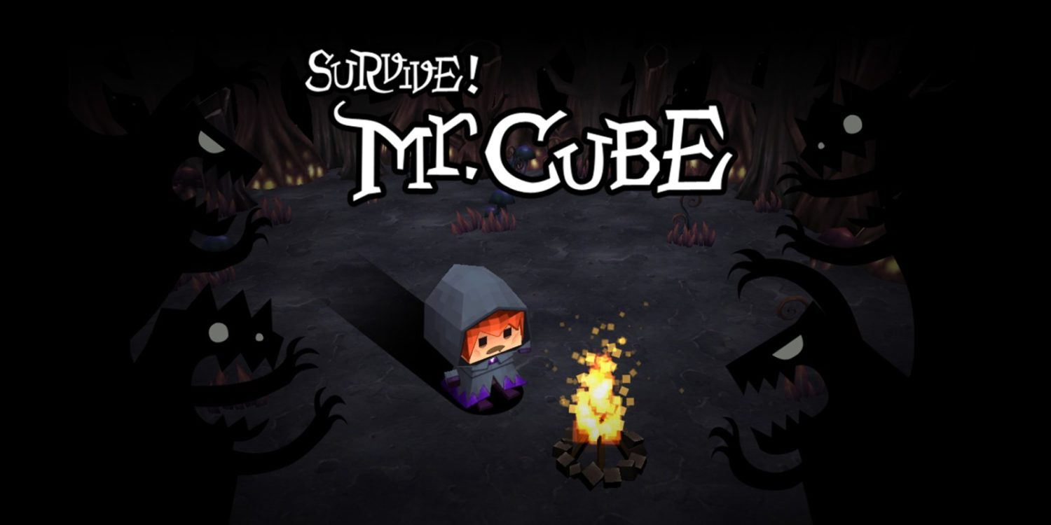 Survive! Mr. Cube title screen