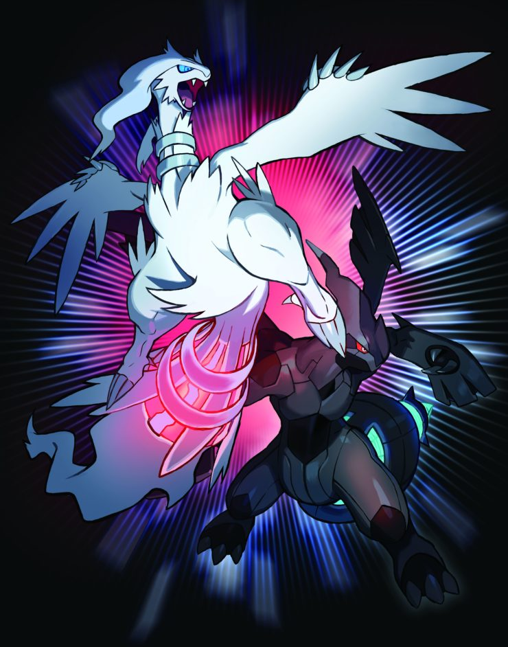 Reshiram and Zekrom October Legendary Pokemon