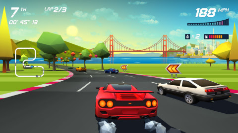 Horizon Chase Turbo joins this week's eShop roundup