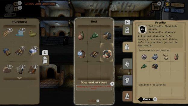 Beholder: Complete Edition - menu