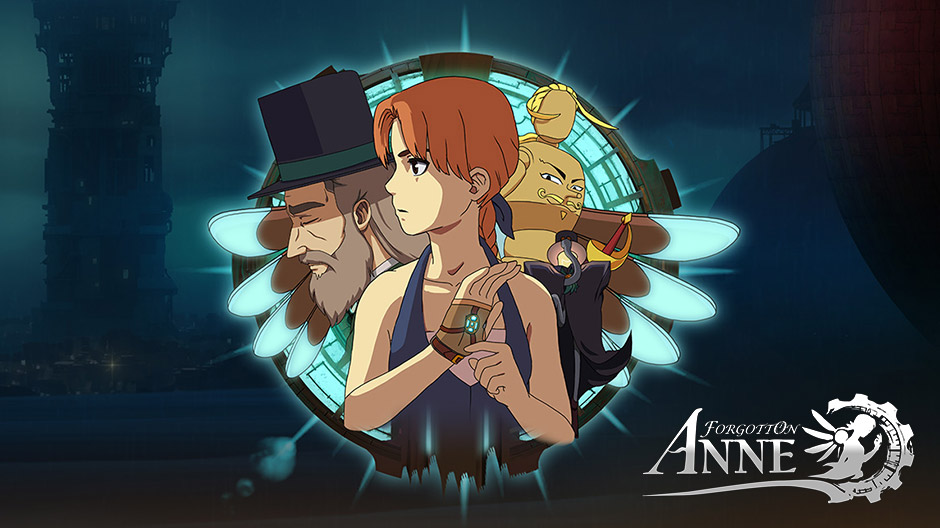 Forgotton Anne title screen