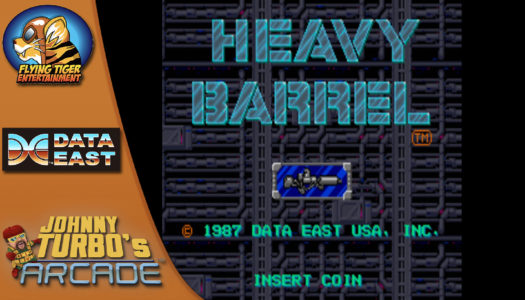 Review: Johnny Turbo's Arcade: Heavy Barrel (Nintendo Switch)