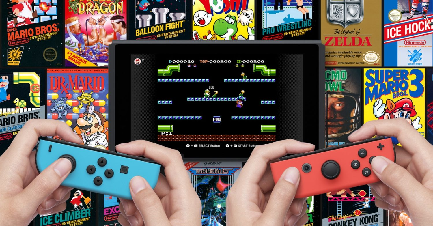 Mario And Kirby Classics Join The Switch Nes Library Pure