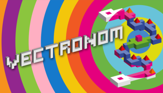 Vectronom tingles the brain with rhythm-based psychedelic geometry on the Switch