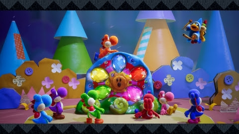 New handcrafted Yoshi and Kirby games launching in March