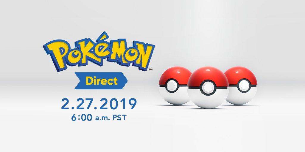 Pokémon Direct February 2019