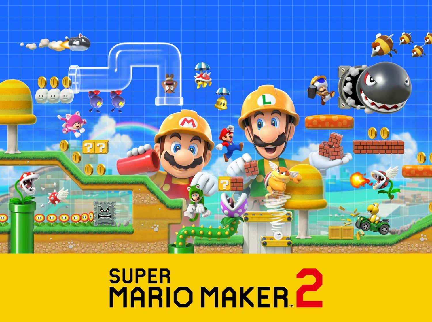 Super Mario Maker 2 - Illustration