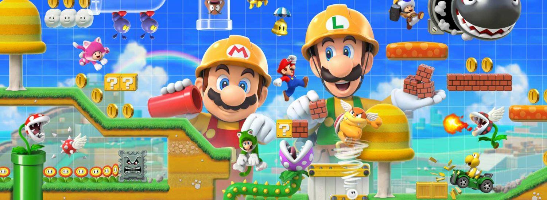 Super Mario Maker 2 - Illustration