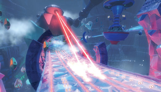 Team Sonic Racing: Frozen Junkyard map revealed