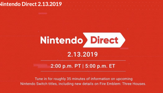 Nintendo Direct announced for February 13th