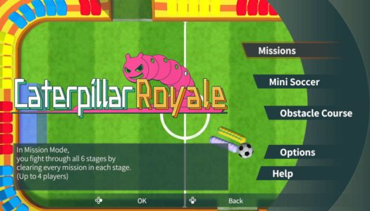 Review: Caterpillar Royale [Nintendo Switch]