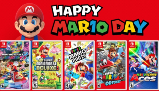 MAR10 day celebrates Mario with discounts and events