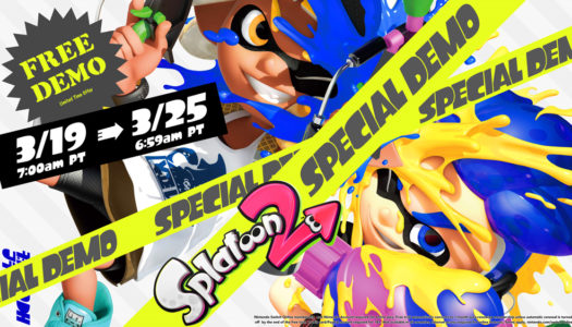 Splatoon 2 special demo has free online trial and 20% off full game