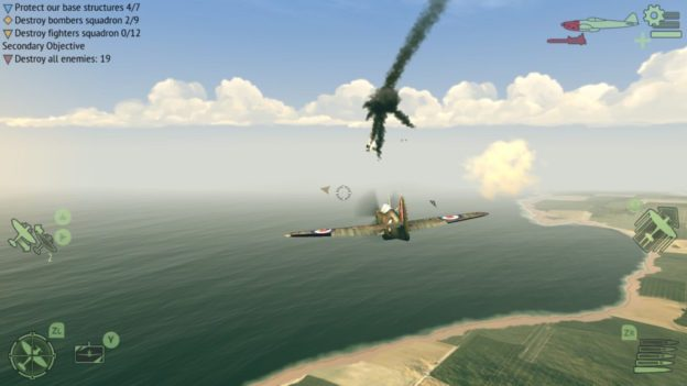 Warplanes: WW2 Dogfight - screen 01