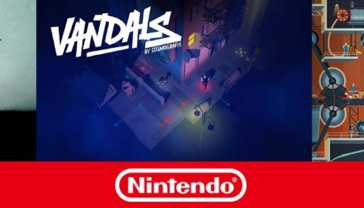 Busy publisher brings Type: Rider, Vandals and Homo Machina to Switch in April