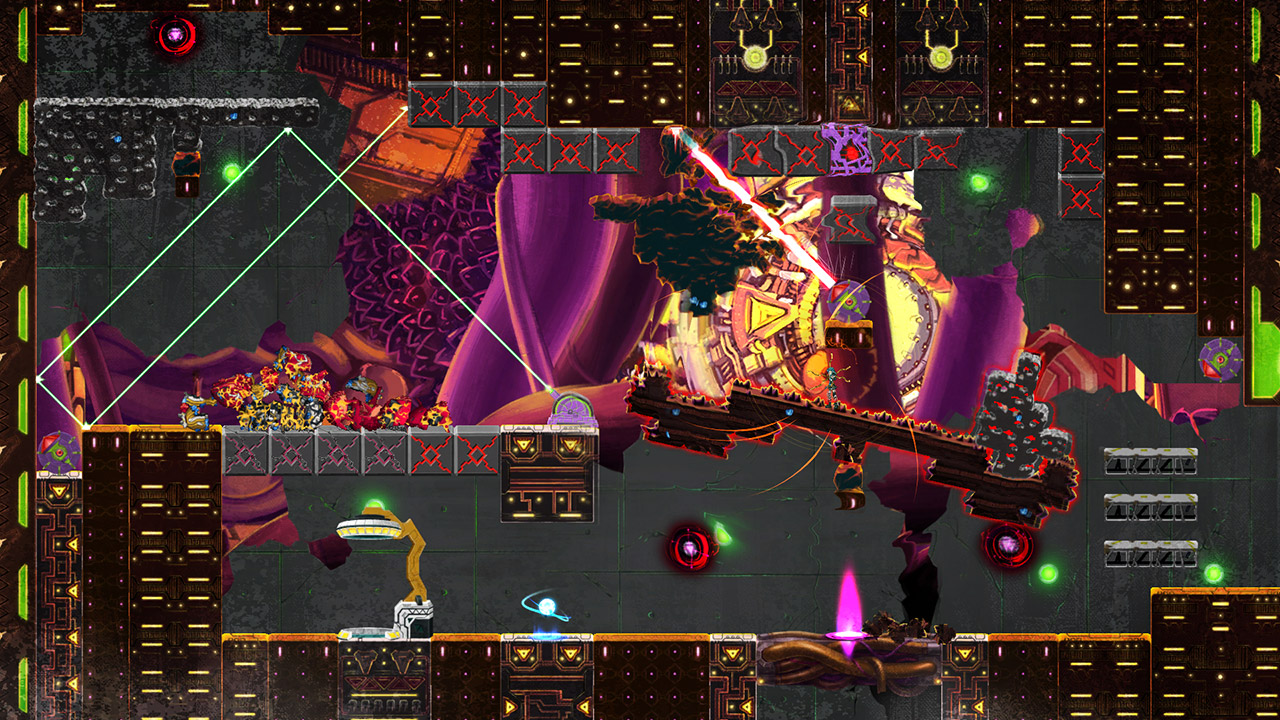 Giga Wrecker Alt. hits the Switch this week with bonus content