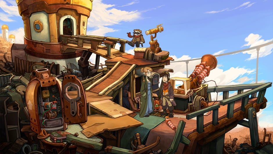 Review: Deponia (Nintendo Switch)