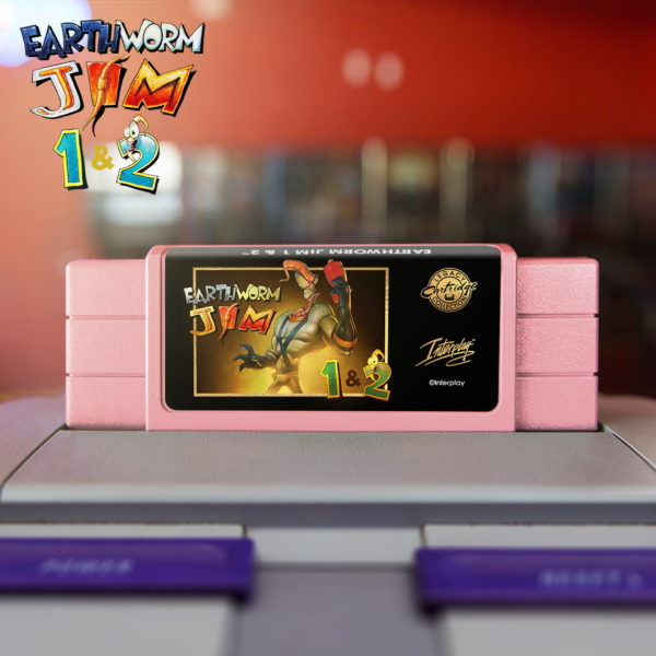 Earthworm Jim - cartridge