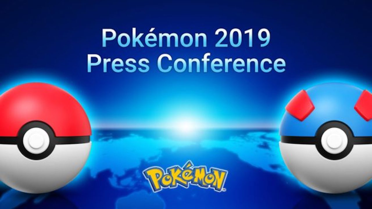 Pokemon Press Conference 2019