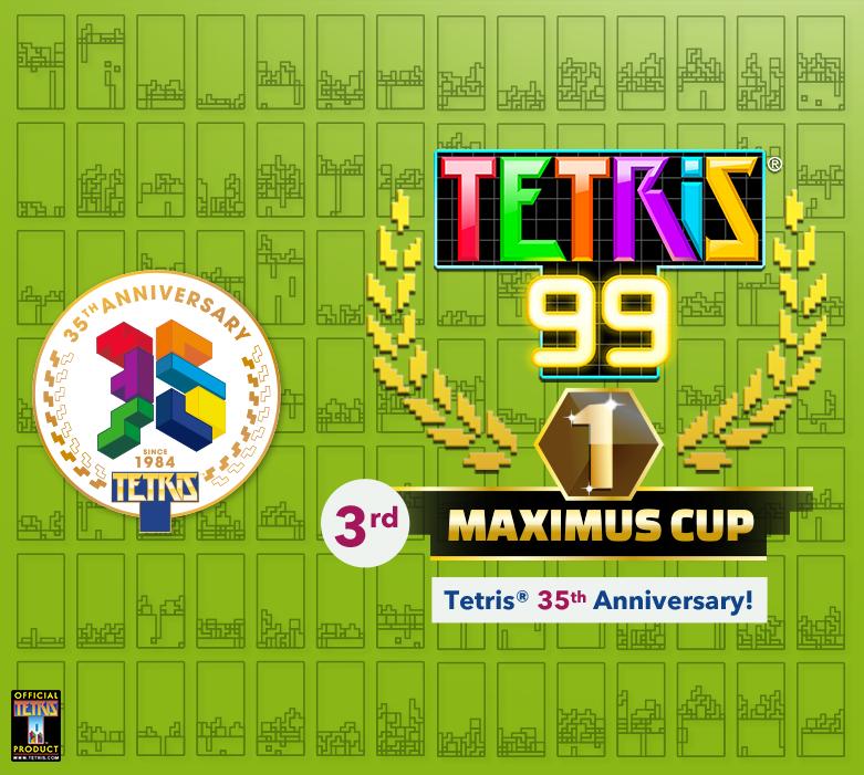 Tetris 99 - event-artwork May 2019 - Nintendo Switch