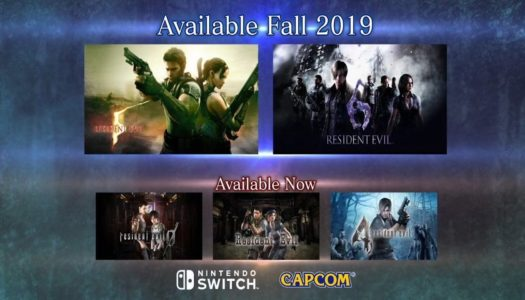 Resident Evil 5 & 6 coming to Switch later this year – E3 2019