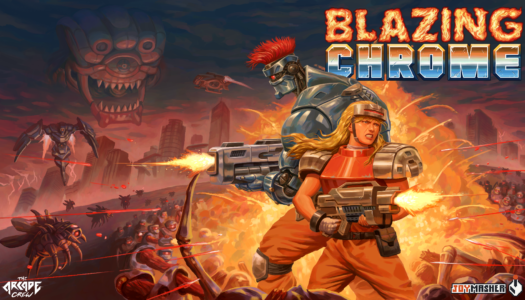 Blazing Chrome is a love letter to Metal Slug – and it hits the Switch next month