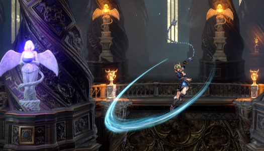 Bloodstained: Ritual of the Night has begun on Switch