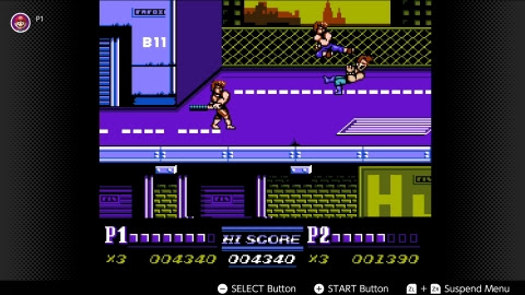 Double Dragon II jump-kicks onto the Switch NES library