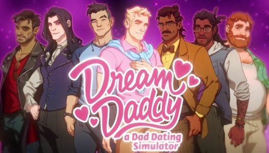 Find the perfect man when Dream Daddy hooks up with the Switch