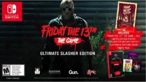 Friday 13th goes physical