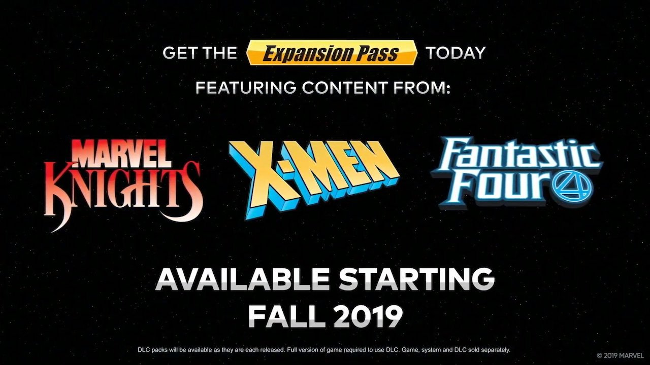 Marvel Ultimate Alliance Expansion Pass