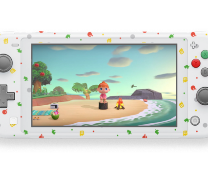Animal Crossing Fruit Leaves Switch Lite