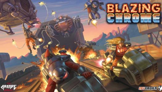 Review: Blazing Chrome (Nintendo Switch)