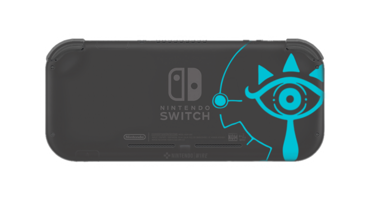 Breath Of The Wild Switch Lite - Back