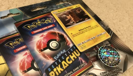 A Glance at the Pokémon Detective Pikachu TCG Sets