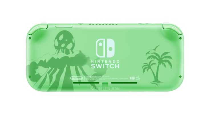 Links Awakening Switch Lite - Back