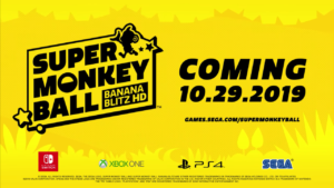 Super Monkey Ball: Banana Blitz HD Release Date