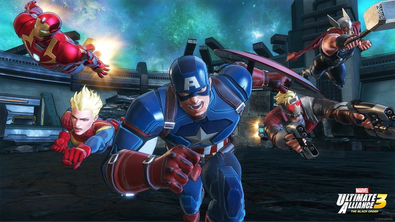 Marvel Ultimate Alliance 3 Cover Art - Review