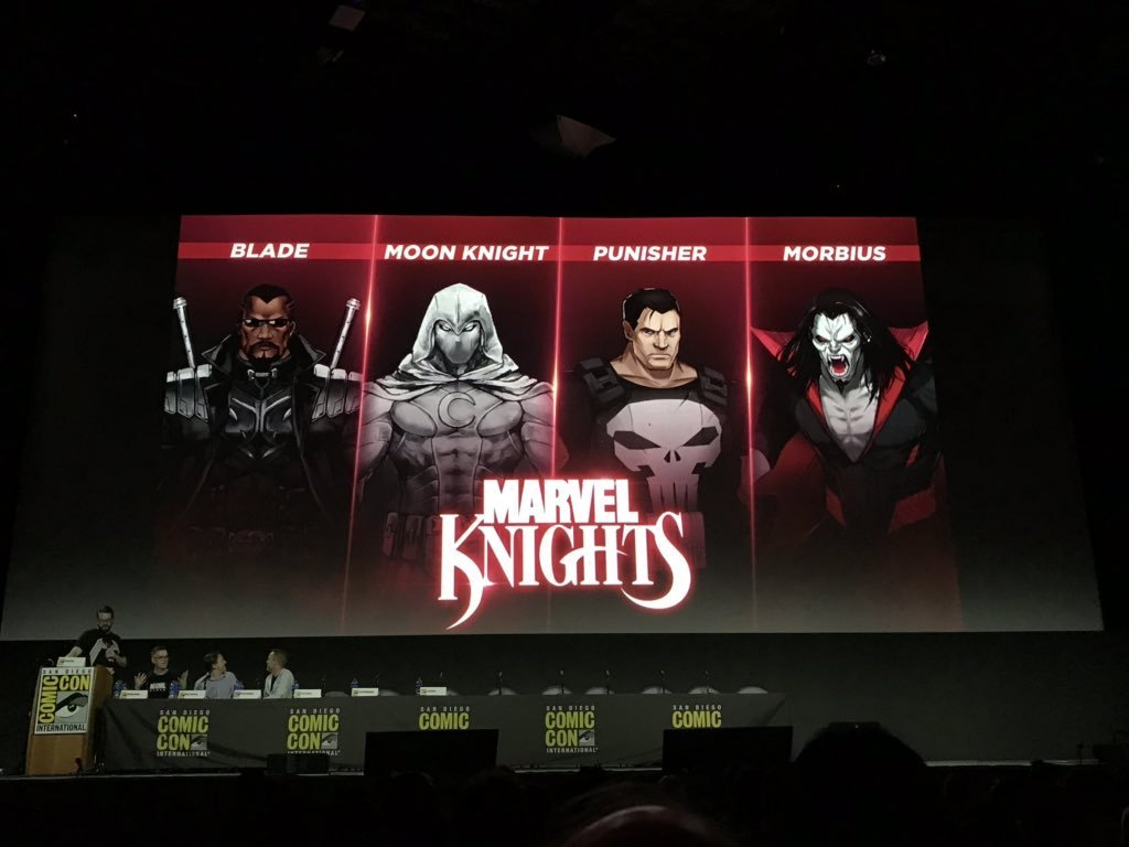 Marvel Knights at Comic-Con
