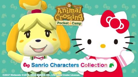 Nintendo Sanrio Animal Crossing: Pocket Camp