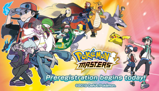 Pre-registration open for Pokémon Masters mobile game