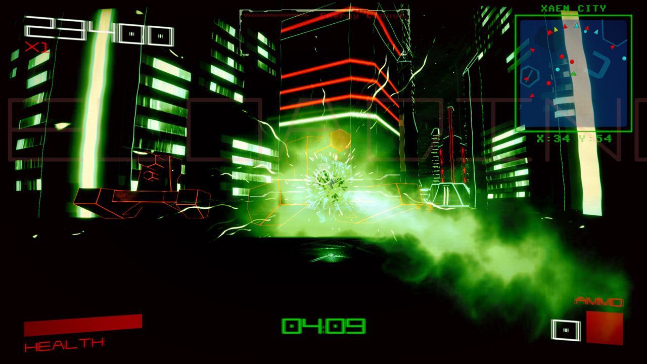 Vektor Wars to bring classic arcade action the Switch