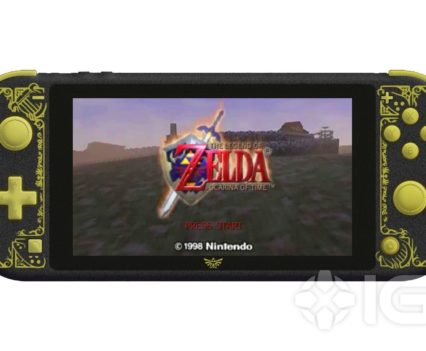 Zelda Switch Lite