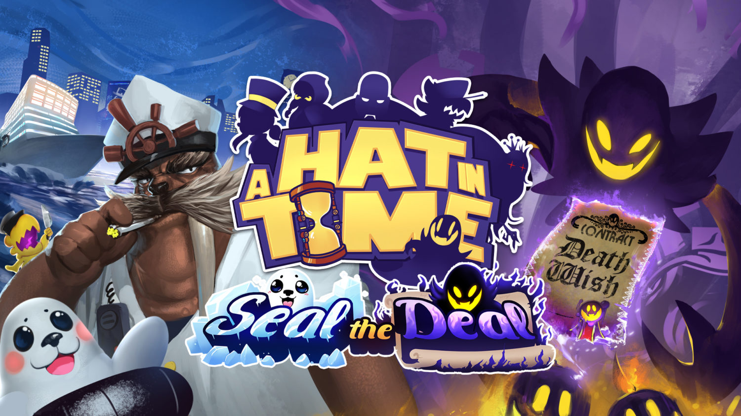 A Hat in time - Seal the Deal - Nintendo Switch eShop