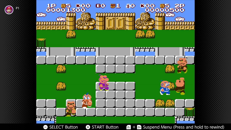 Kung-Fu Heroes - NES - Nintendo Switch online