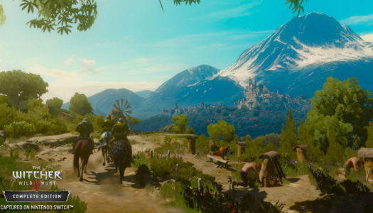 The Witcher 3 gets a release date, Switch gameplay footage