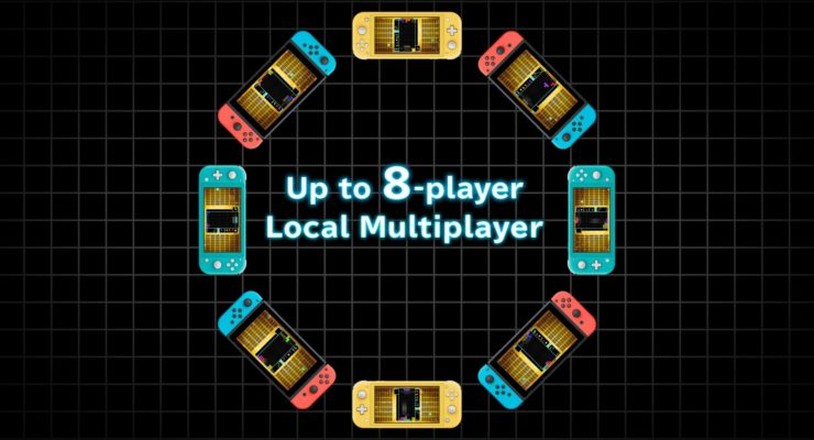 Switch Local Multiplayer in Tetris 99