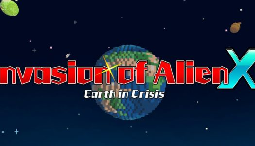 Review: Invasion of Alien X – Earth in Crisis (Nintendo Switch)