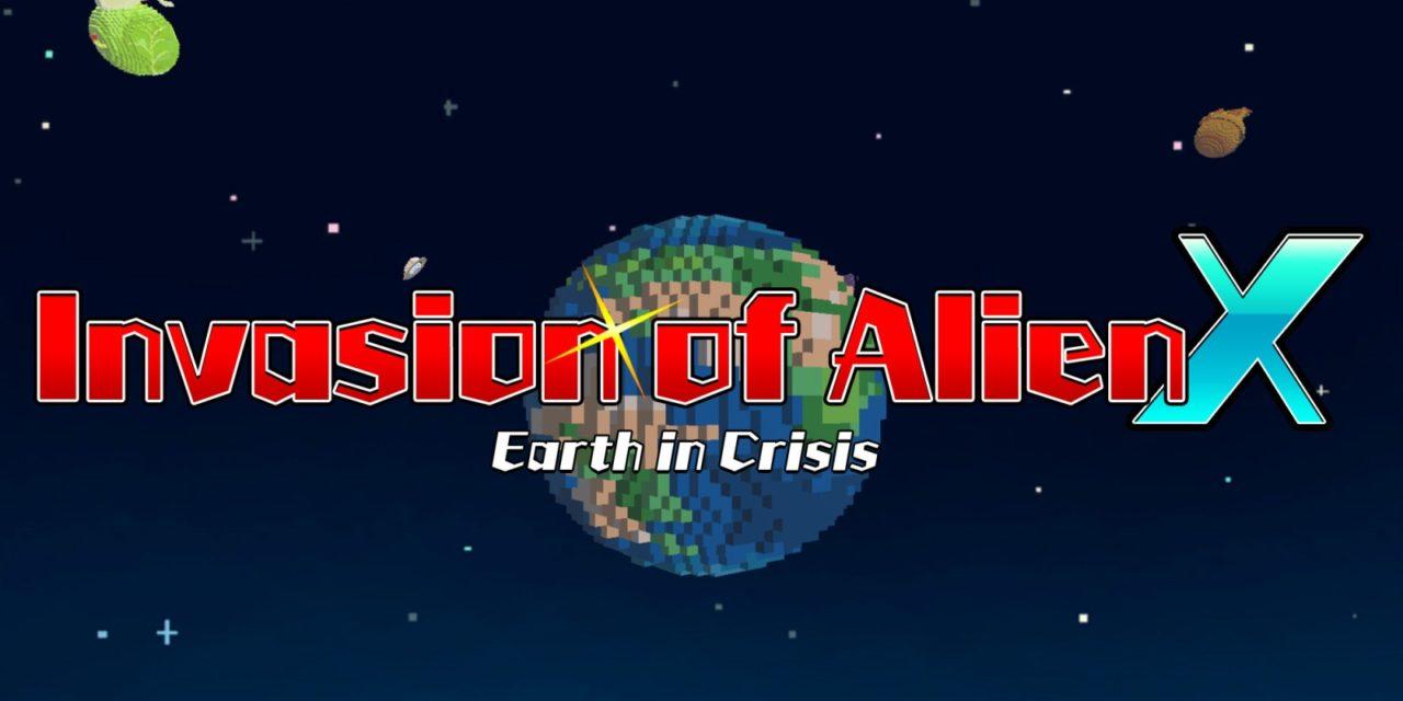 Review Invasion Of Alien X Earth In Crisis Nintendo Switch Pure Nintendo Alien x is an alien from the forge of creation. review invasion of alien x earth in
