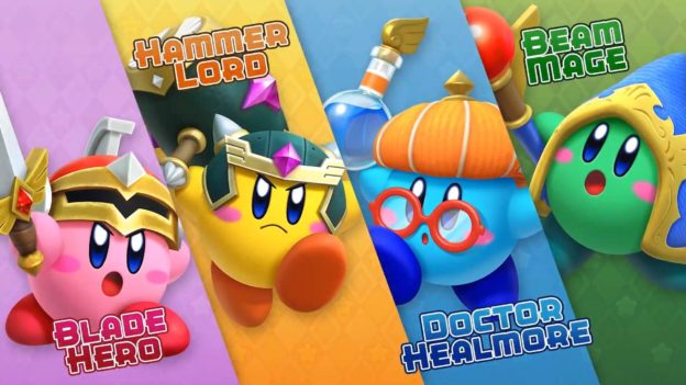 Which Kirby will you choose in your next clash?